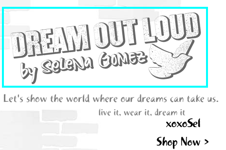 Selena Gomez Dream Out Loud font?