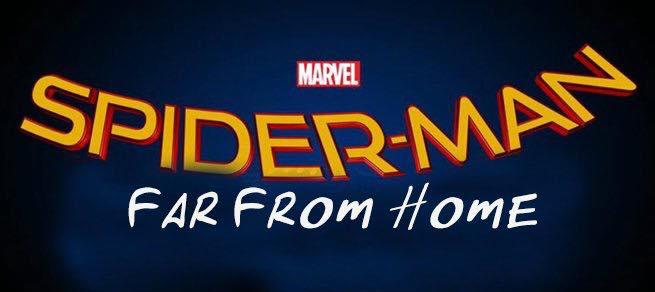 Spider-Man Far from Home Alt logo Fonts? - forum | dafont com