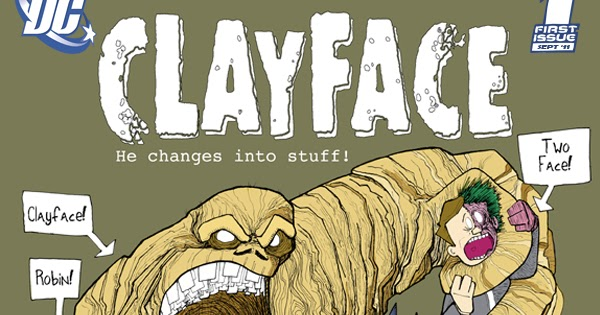 Clayface Logo fonts?