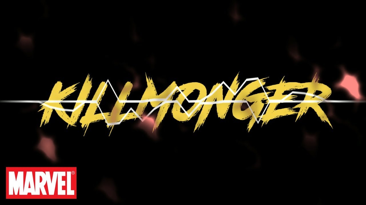 Killmonger Logo Fonts?