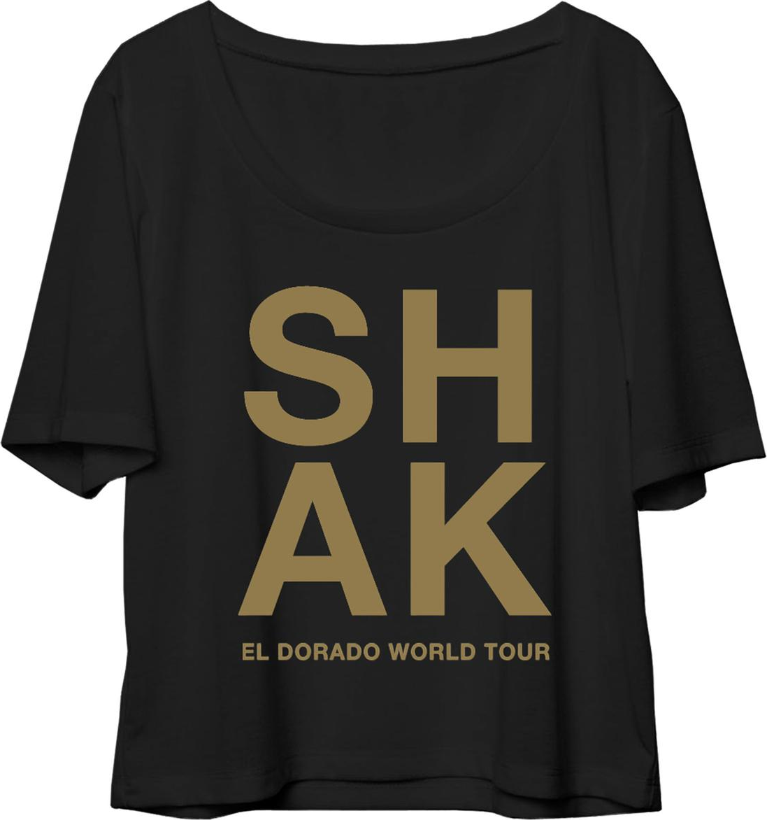 shak world tour font