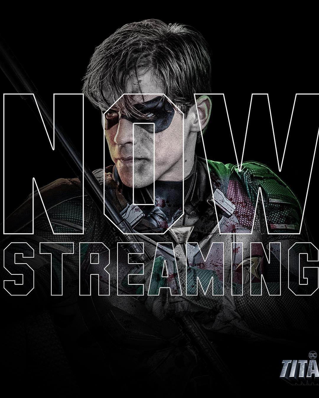 'Titans - Now Streaming' font!!
