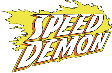 Speed Demon Logo Fonts?