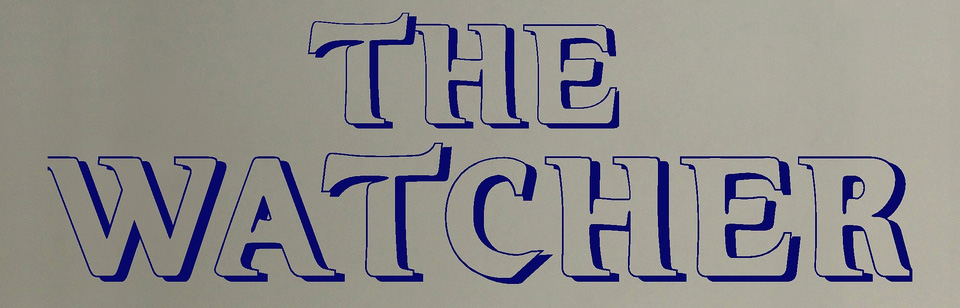 The Watcher Logo Fonts?