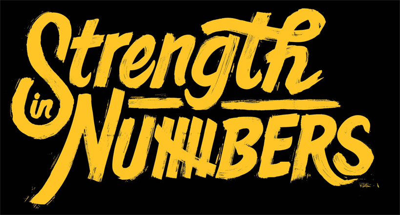 STRENGTH IN NUMBERS font?.. please help