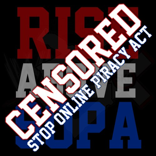 "Font for ""Rise Above Hate/Censored stop online privacy Act"" ?"