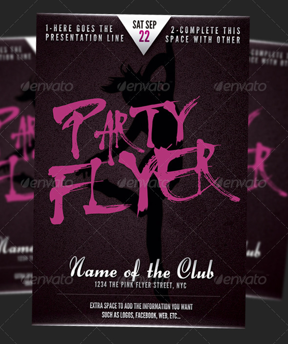 Party Flyer font ?