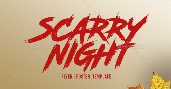Scarry Night font ?