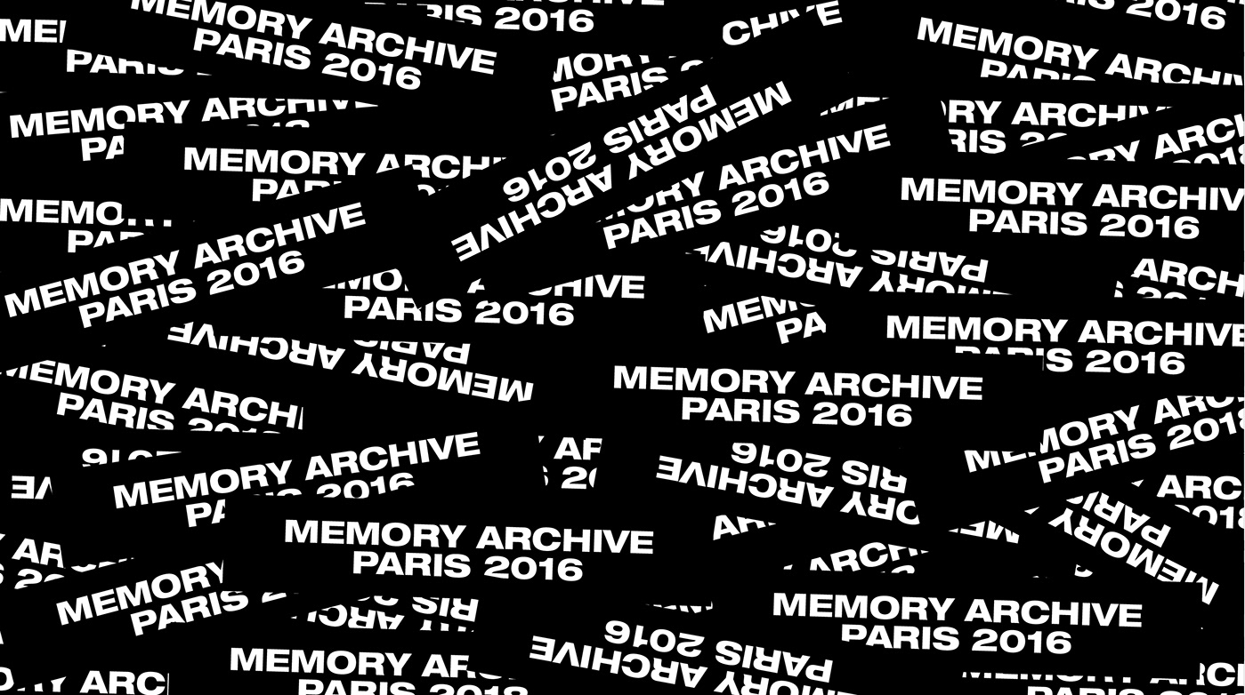 MEMORY ARCHIVE Font