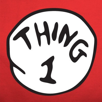 thing 1 and thing 2 font