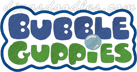 font Bubble Guppies
