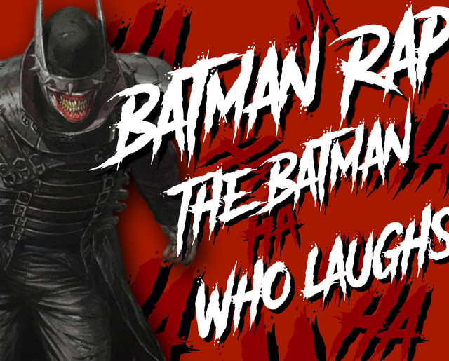 Batman Rap The Batman Who Laughs Fonts?