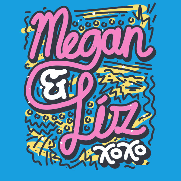 megan and liz font