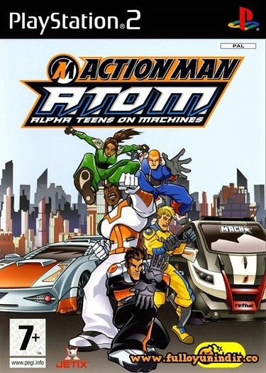 Action Man - A.T.O.M. Alpha Teens On Machines