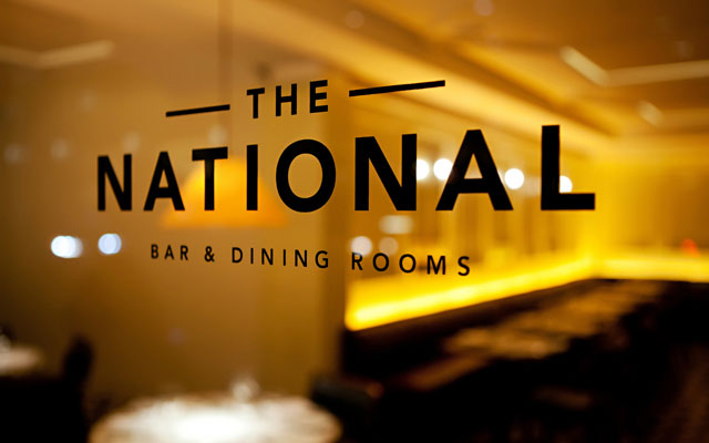 """the national"" font please"