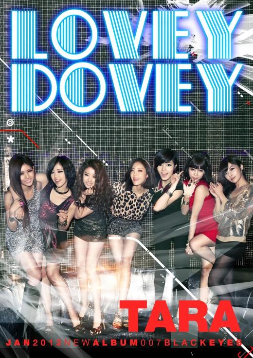 T-ara Lovey Dovey Font? - forum | dafont.com