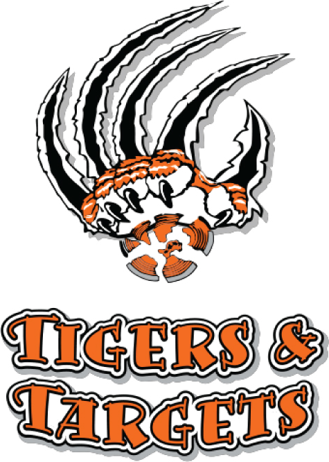 TIGERS & TARGETS font?