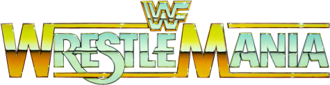 What is the Wrestlemania 1 font?
