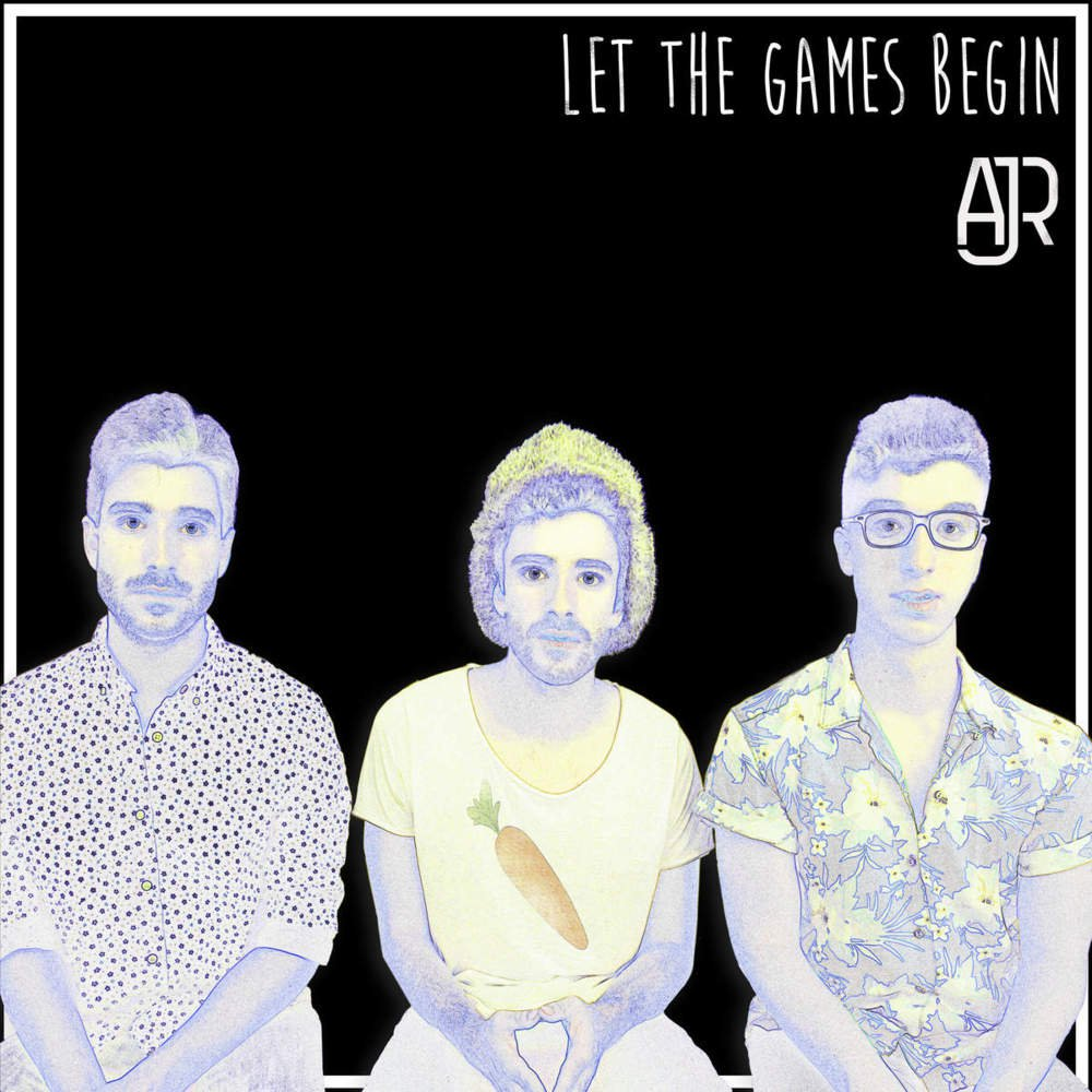 "what is the font for AJR's ""Let the Games Begin""?"