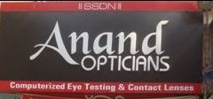 Which font are these ANAND and OPTICIANS