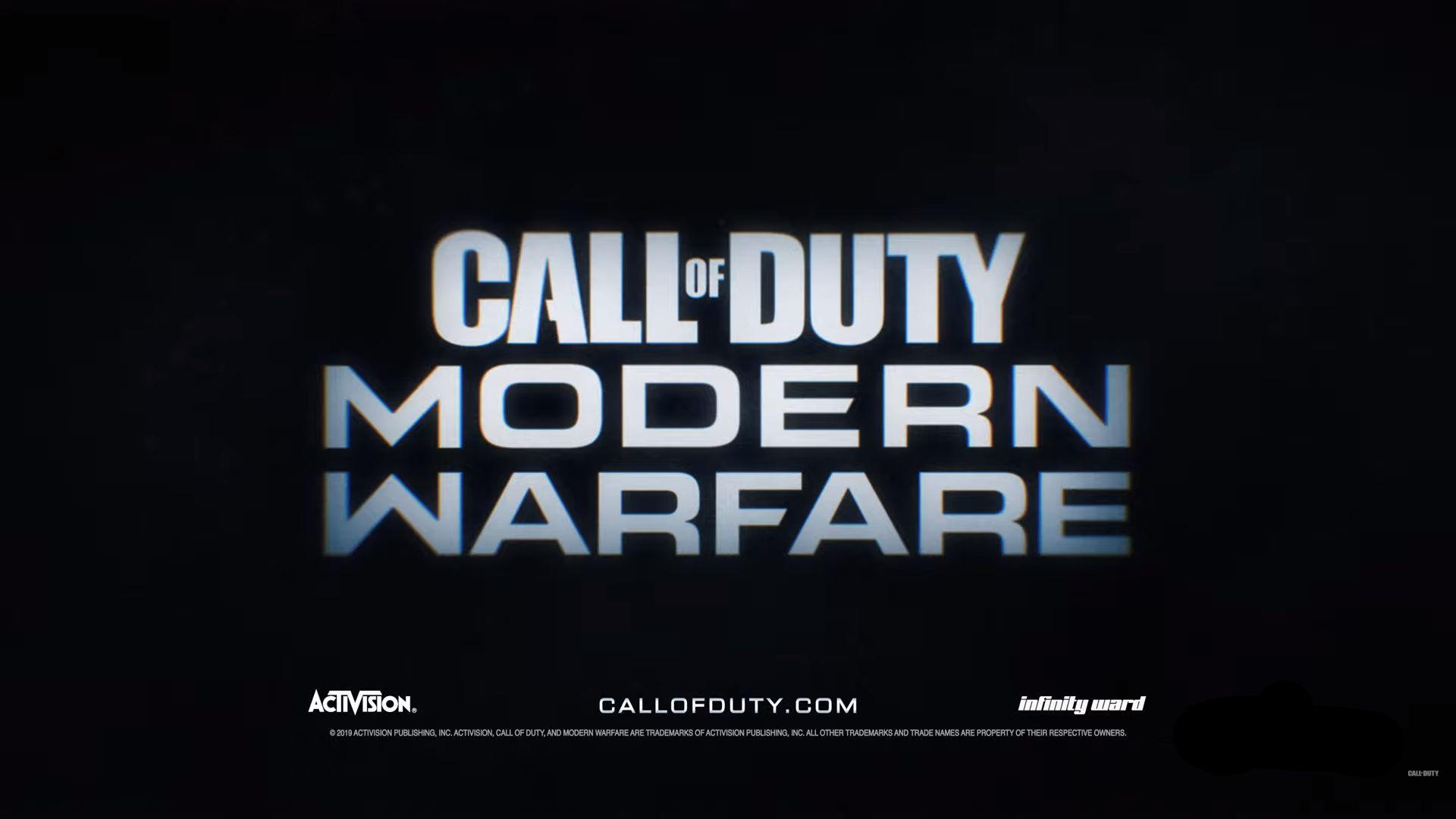 New Call Of Duty Modern Warfare Font Forum Dafont Com