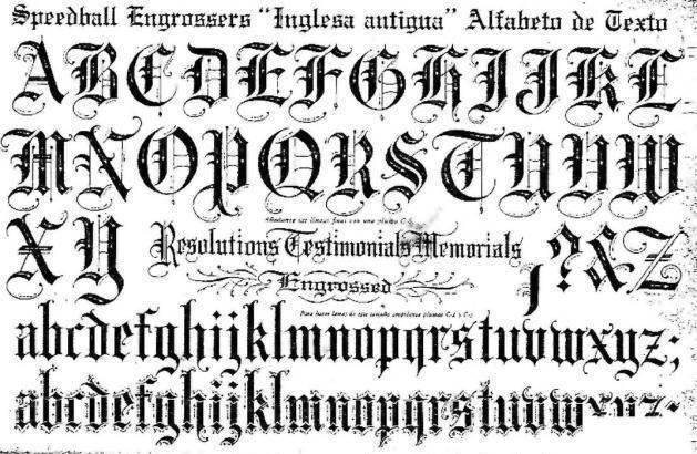 Gothic Script Font Forum