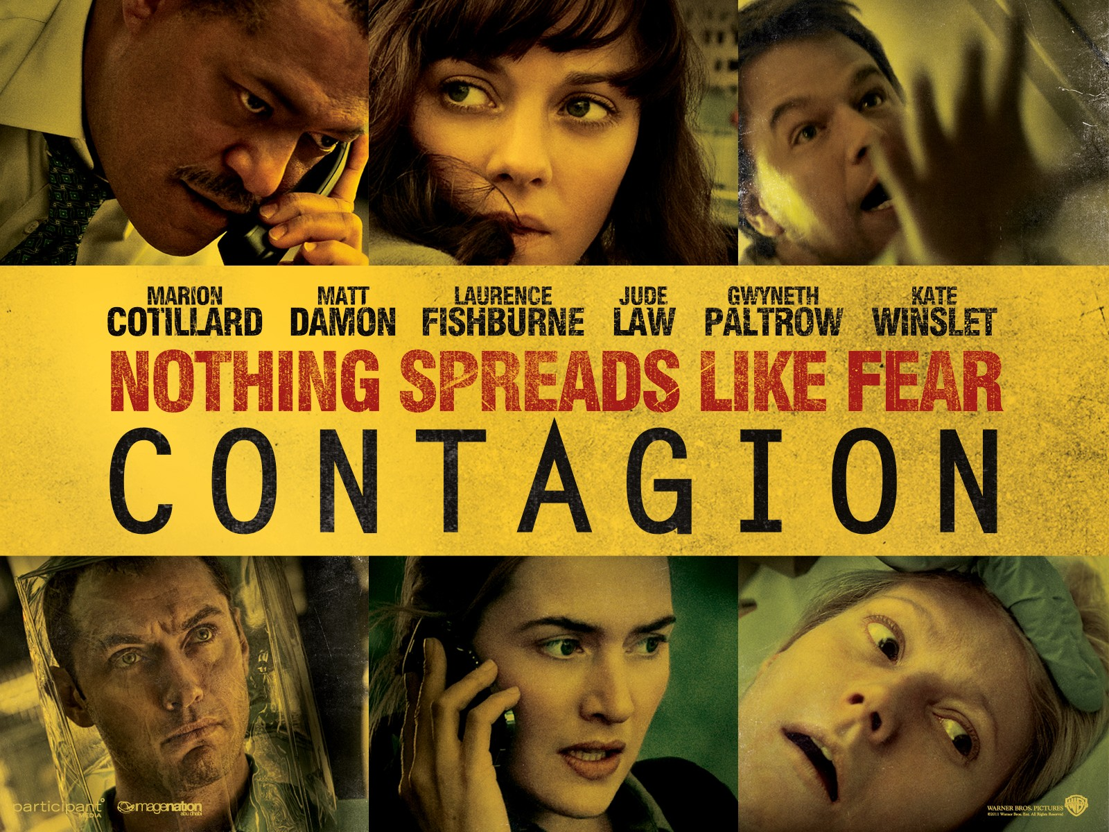 What font is used for the Contagion movie poster? - forum ...