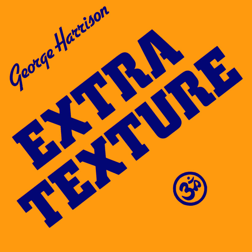 George Harrison EXTRA TEXTURE...what is the font?