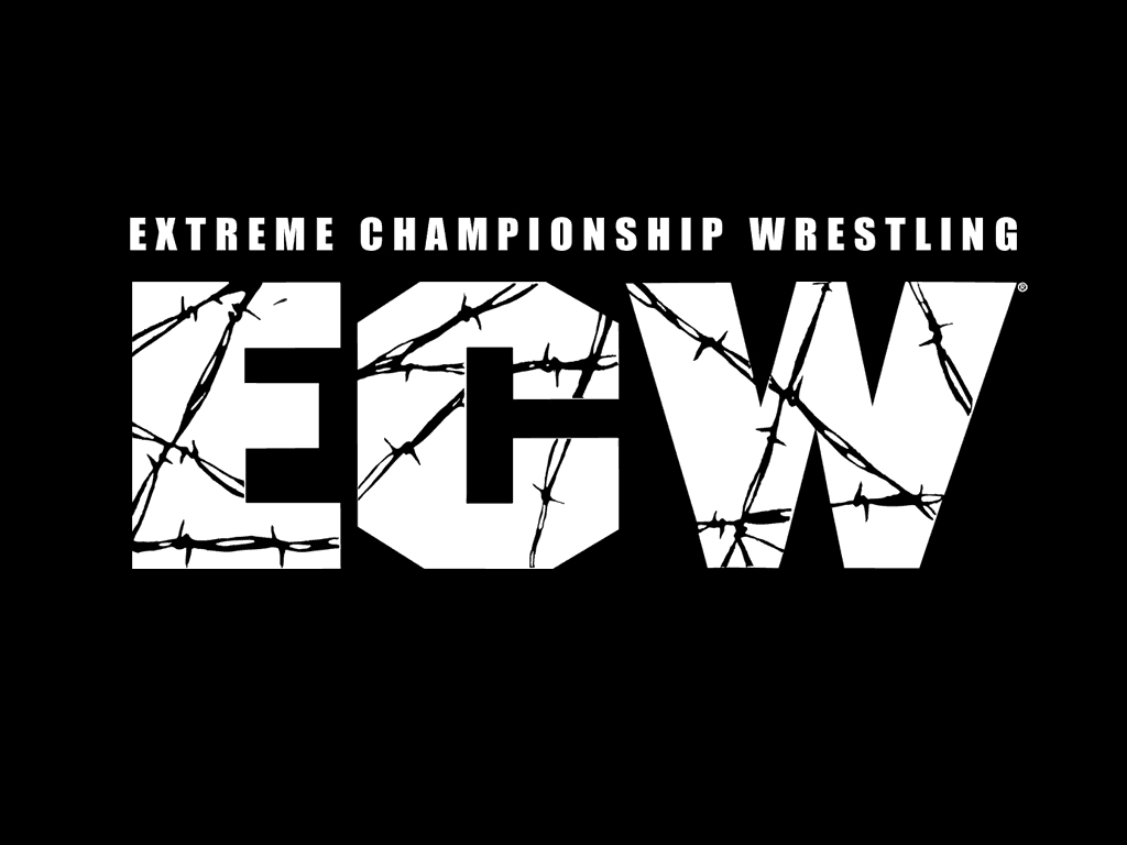 Ecw logo the barbed wire not text forum dafont