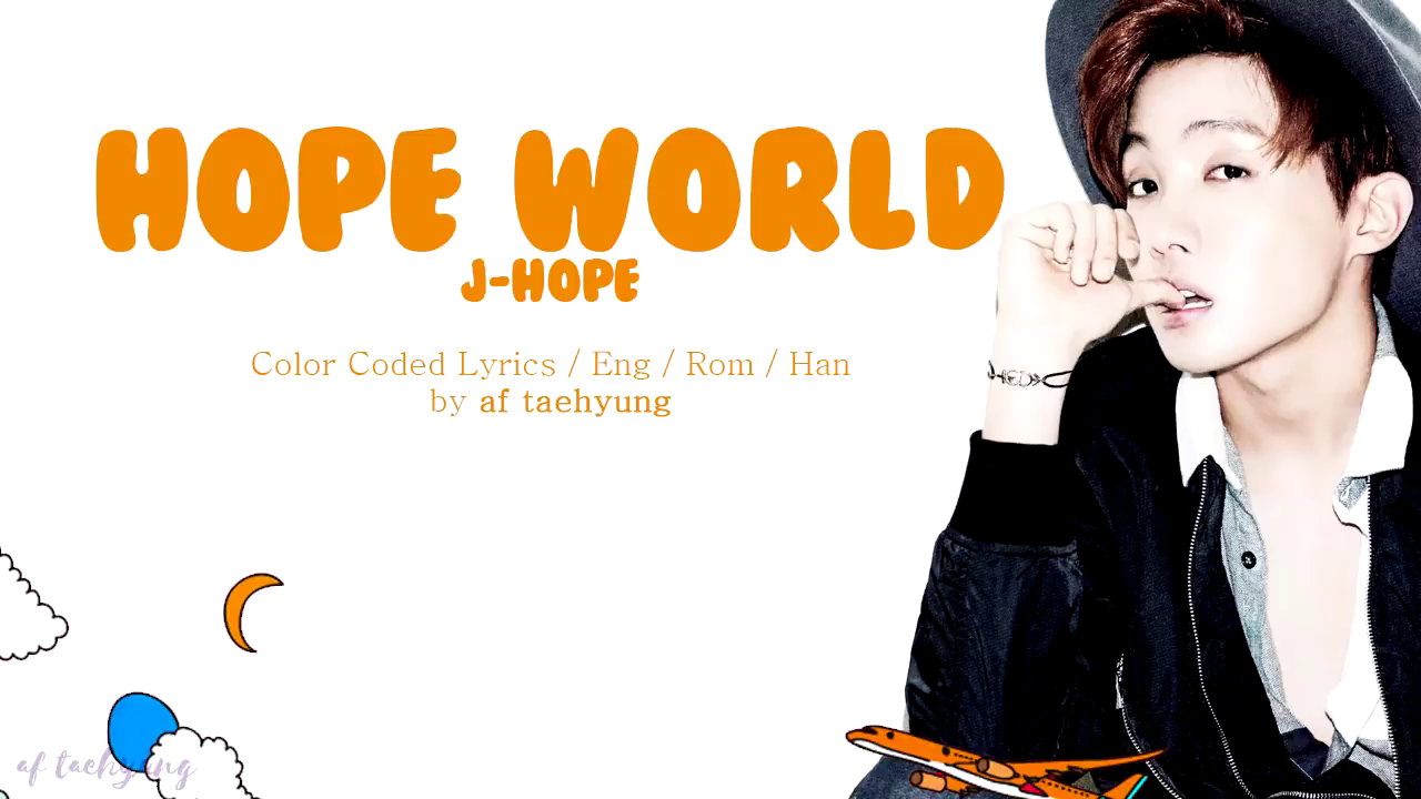 Hope World font?