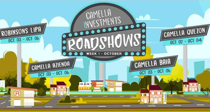 font  used for camella And Roadshows