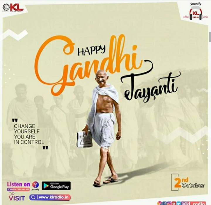 Font used For Happy and  Gandhi