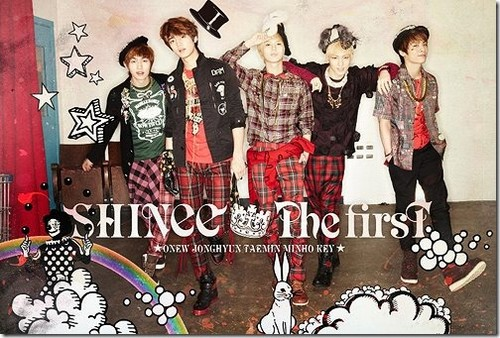 Shinee The First Font