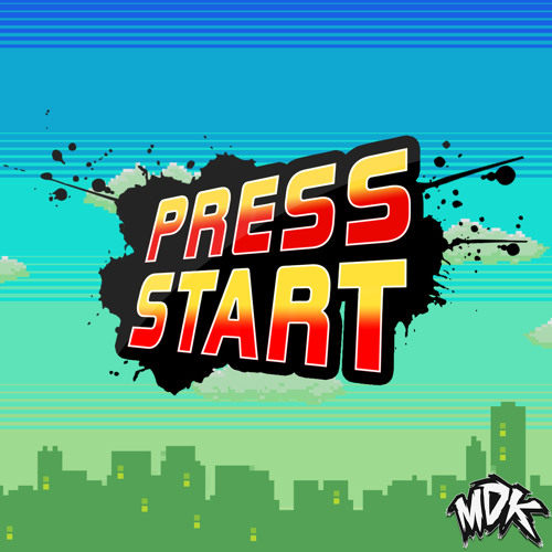 "What's The Font Used In This Cover Art of Mdk's ""Press Start""?"
