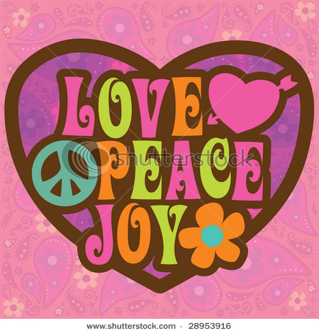 Love Peace Joy what is the font?