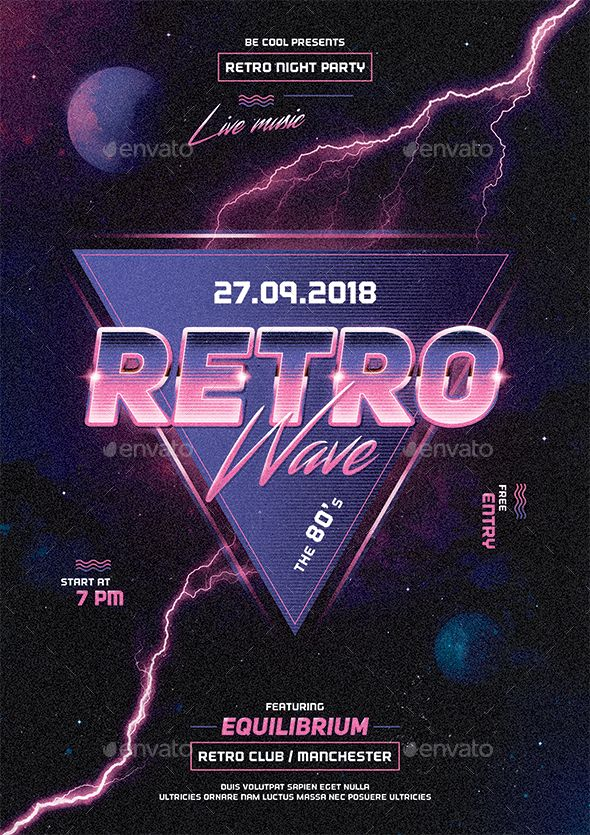 RETRO & WAVE FONT PLEASE