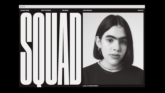 Can anyone me where can I get this font? The SQUAD. Please.