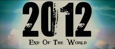 2012 end of the world Font pls