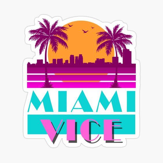 Font miami vice Free Miami