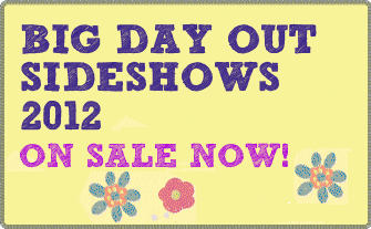 Big Day Out Festival Font