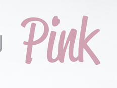 """Pink""s font!! HELP"