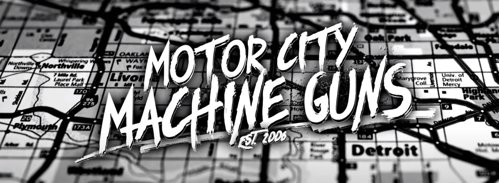 Motor City Machine Guns Font