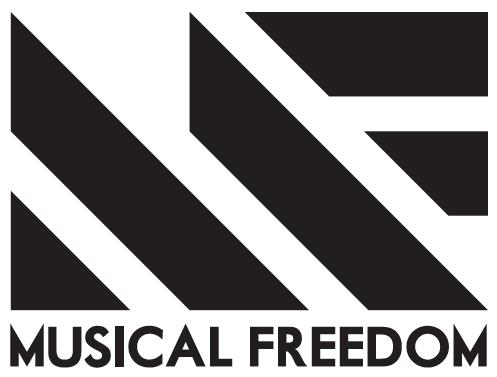 Musical freedom font?