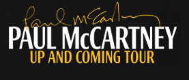 Paul McCartney Up and Coming Tour font