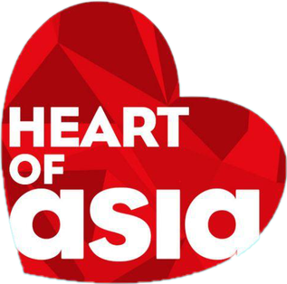 Font used in GMA's Heart of Asia channel logo