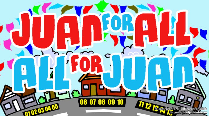 help with Juan For All All For Juan font