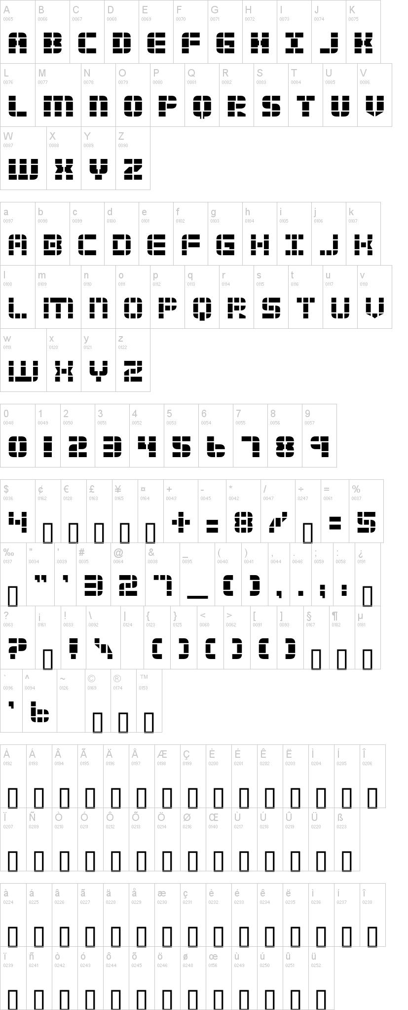 2 Tech Font | dafont com