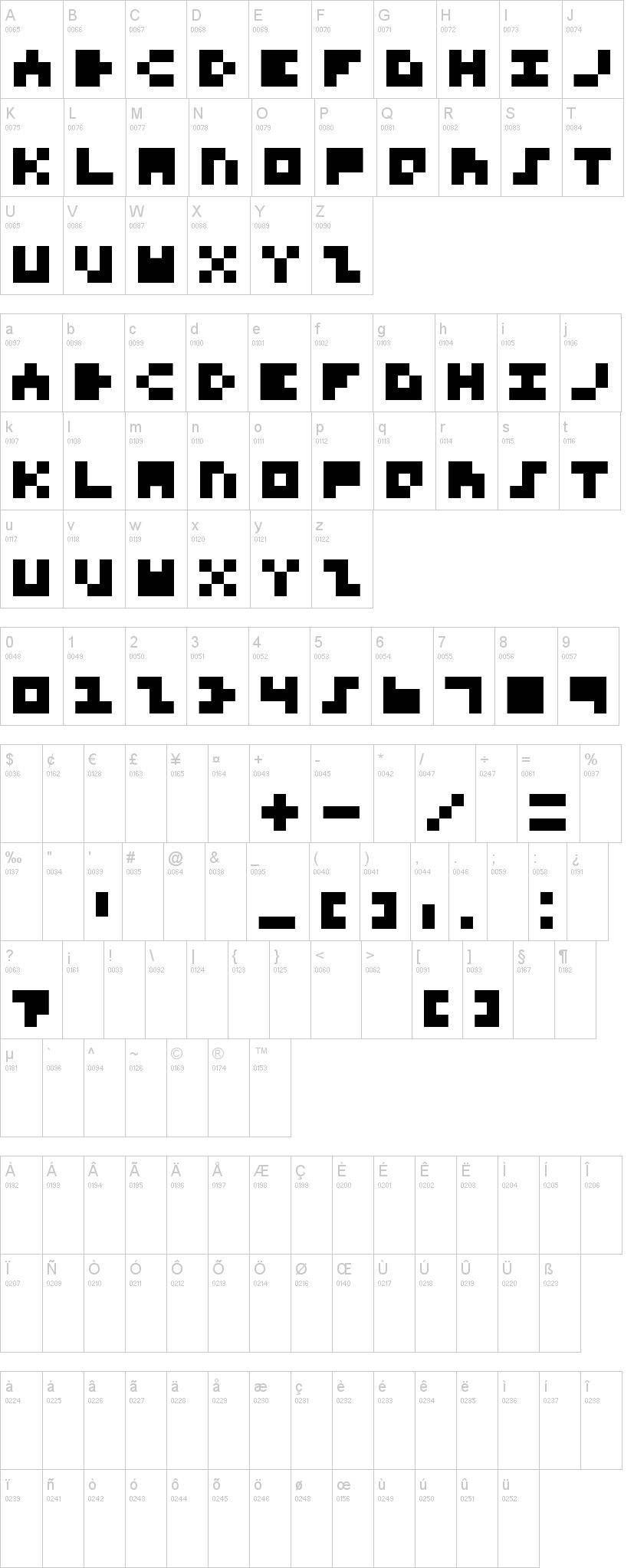 Calendar For Typography Nerds : Font for nerds dafont