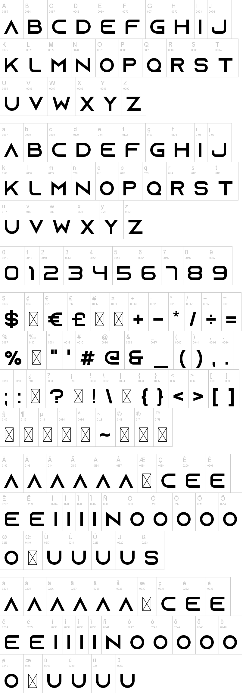 Azonix Font | dafont com