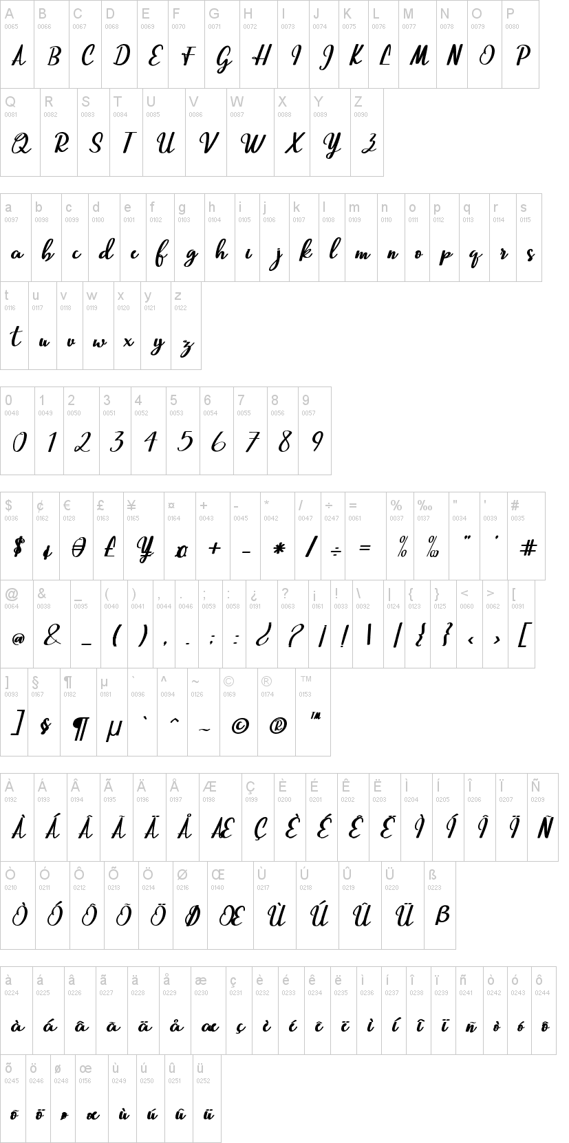 Beautiful Script